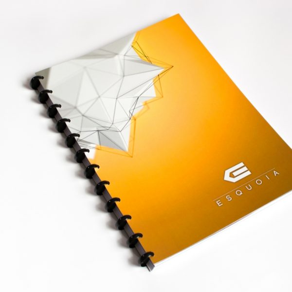 Reusable notebook ESQUOIA Classic A4 Yellow