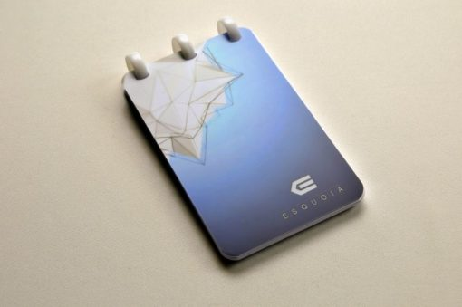 ESQUOIA-Pocket Blue Reusable Notebook