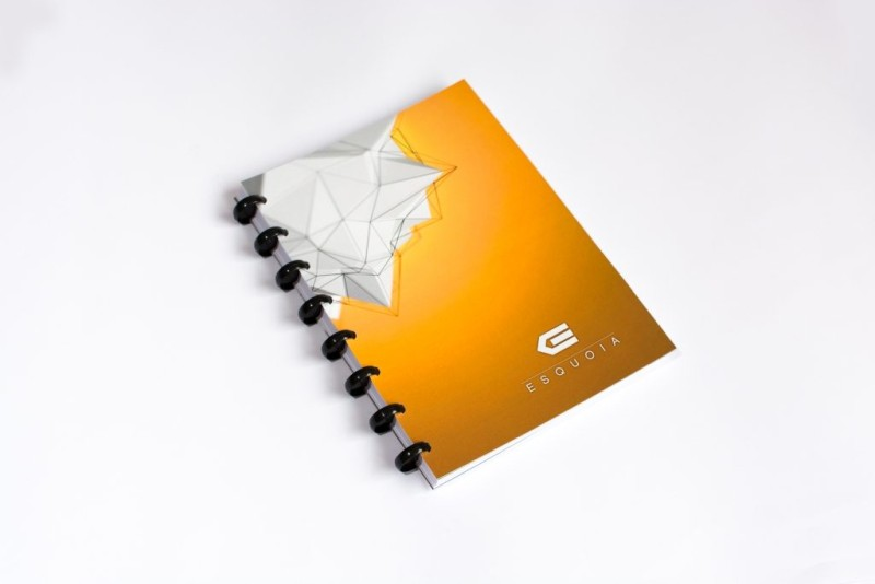 Reusable notebook A5 ESQUOIA Yellow