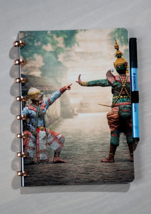 Esquoia Reusable Notebook - Traditions - With Aluminium rings