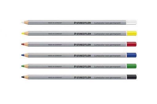 Erasable Pencils - staedtler lumocolor non-permanent omnichrom 108
